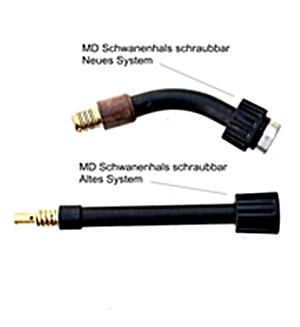 Schwanenhals für MD Brenner